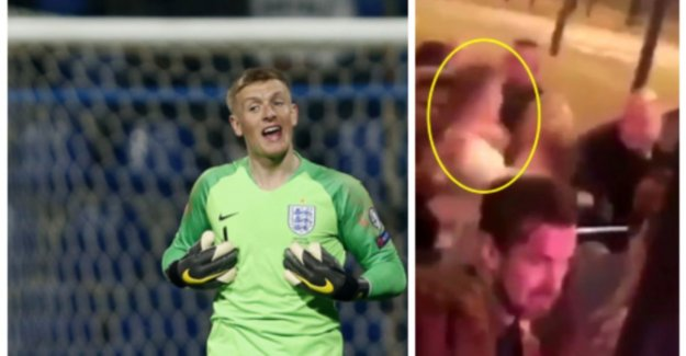 Night on the town runs quite out of hand: knokkende goalkeeper of English national team works in the nests, are club start research