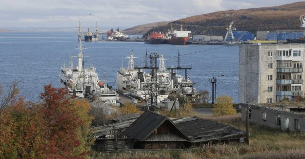 Norwegian trawlers had to leave Murmansk