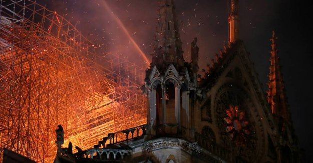 Notre Dame should be rebuilt in five years