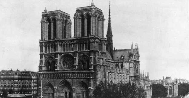 Notre Dame was 15-30 minutes away from burning down completely