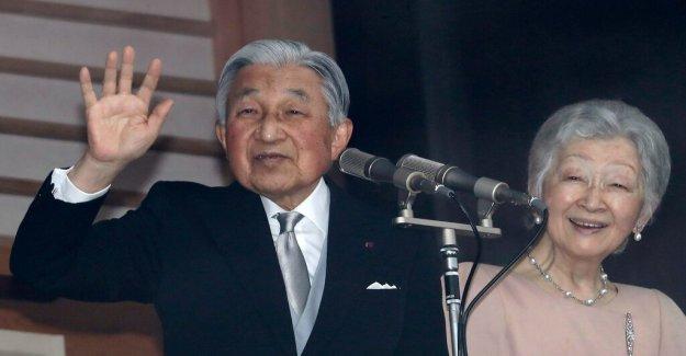 Now abdicates Japan's emperor Akihito