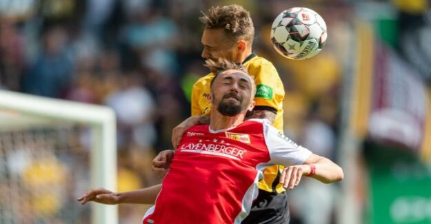 Now for three Games, winless : Union brings just one point in Dresden