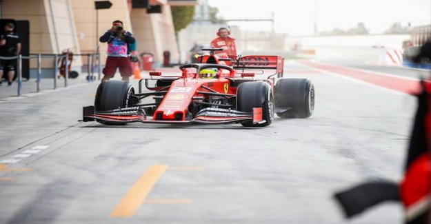 Now it happened: Mick Schumacher to drive for the first time a Ferrari F1 car pictures of the historic moment
