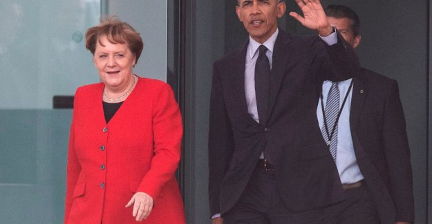 Obama visiting Merkel, hopes for another American climate change policy