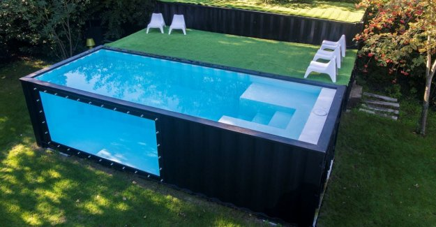Of shipping container swimming pool. Splashes do you since ...