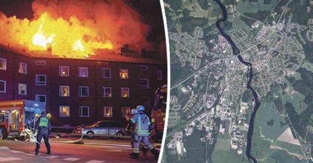 One dead after storbranden in Säffle