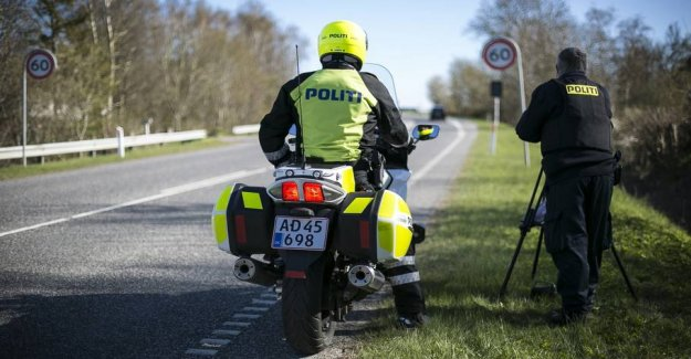 Over 14,000 drivers got speeding tickets in easter
