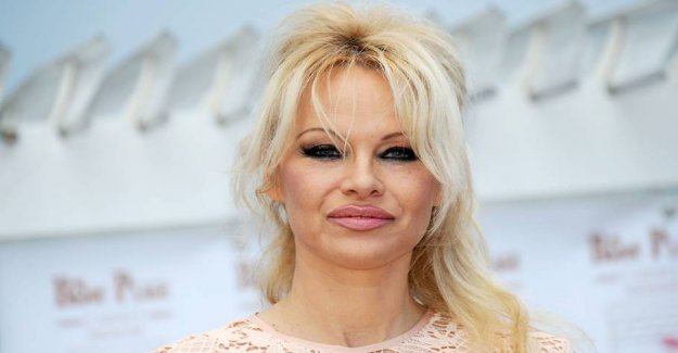 Pamela Anderson reaches out for the wealthy minority