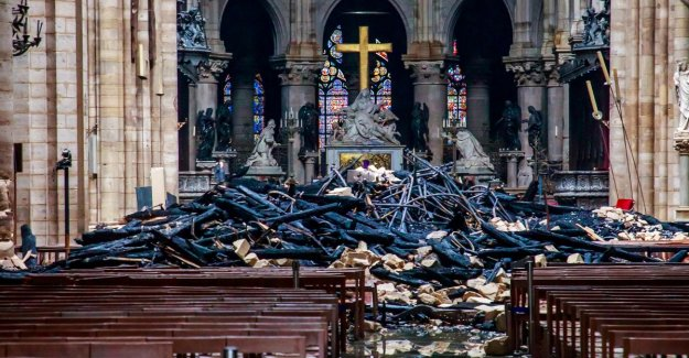 Parquet warns of scammers that donations Notre-Dame in your own pocket