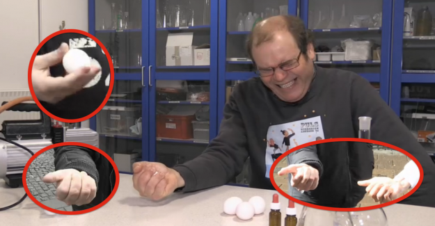 Påskeudfordring: Can you crush an egg in your hand?