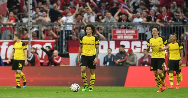 Passive and harmless : Borussia Dortmund's questionable appearance at Bayern
