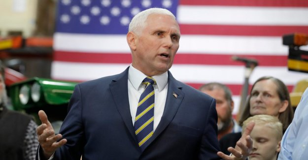 Pence: the united states tightens sanctions against Venezuela