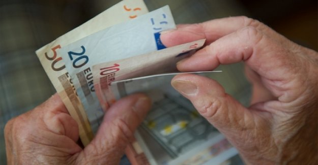Pensions increase by more than three percent