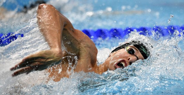 Pieter Timmers rushes in Guangzhou to profit in 100m free