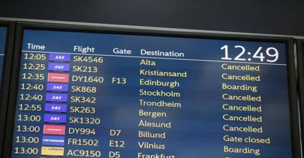 Pilot strike: SAS cancels 1,200 flights