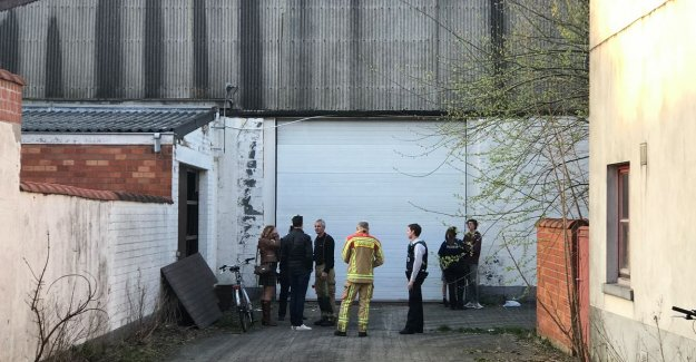 Playing a teenager (14), injured after falling through roof of abandoned warehouse