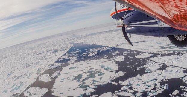 Polar research : Eisnachschub in the Arctic falters