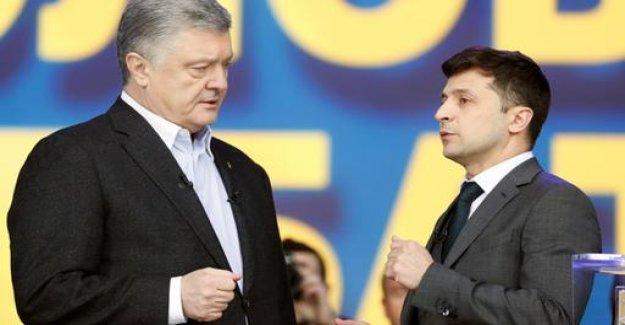 Presidential election in Ukraine: exchange of blows in the stadium