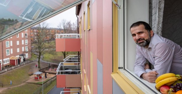 Problemhuset got new life with the residents ' help