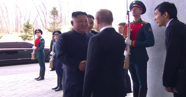 Putin and Kim have now been reached in Vladivostok