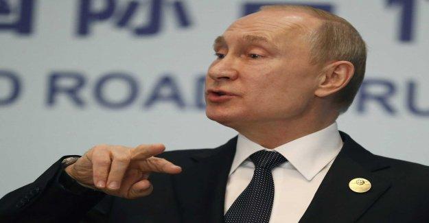 Putin wants to expand passerbjudande in Ukraine