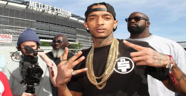 Rapper Nipsey Hussle, 33, memorial turned to chaos – several injured