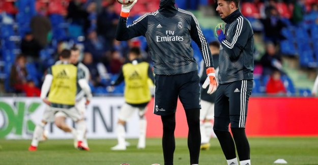 Real Madrid is not further than scoreloos tie on a visit to Getafe, Courtois remains on the bank