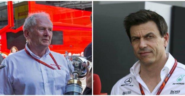 Red Bull or Mercedes lying
