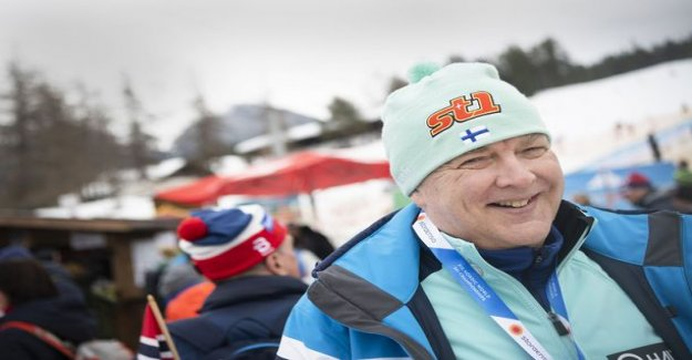 Reijo Jylhä, 58, participated in the excruciating cross-country skiing events - skiing 60 miles to the insurance the time!