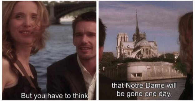 Remember, though, that the Notre-Dame there ever will be: filmdialoog from 'Before Sunset' is the pressure shared