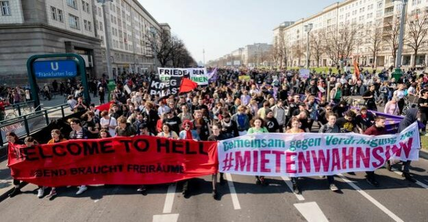 Rent madness-Demo : We must expropriate, so that Berlin is a city for all