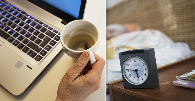 Researchers: Customize the work schedule for the circadian