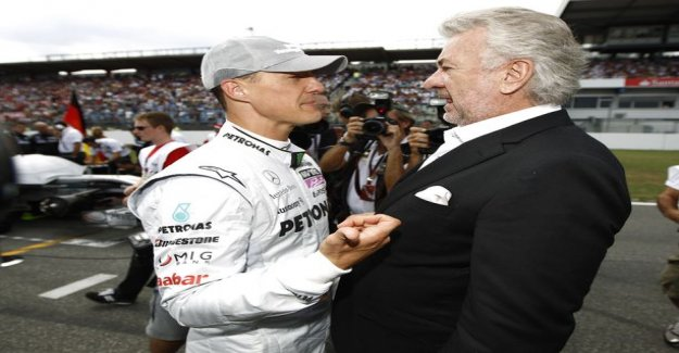 Restraining order a friend I cut Michael schumacher's manager drastically: He has destroyed our relationship perfectly