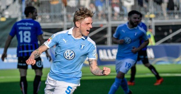 Rieks matchhjälte when Malmö won against Sirius