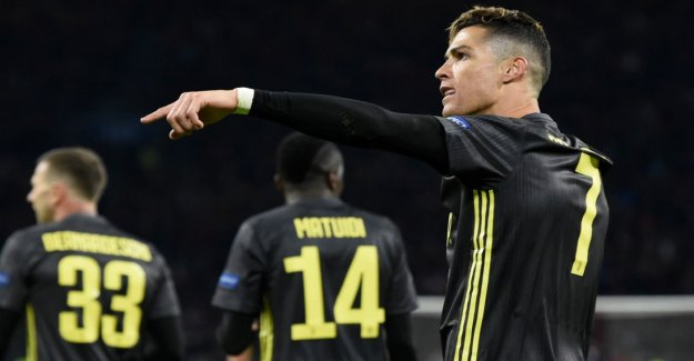 Ronaldo's headed goal hurts Ajax