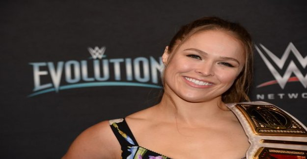 Ronda Rousey left to UFC – injured so badly in a wrestling