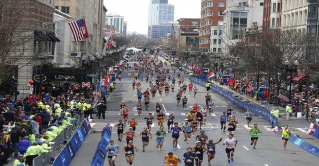 Rough punishment: China placed three runners in the lifelong competition ban on the trio trying to cheat the Boston marathon