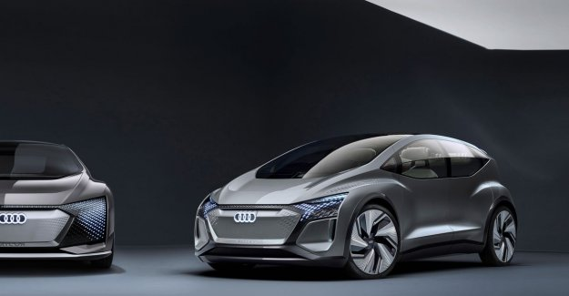 Rush hour? Time to relax! That is what Audi wants us to believe