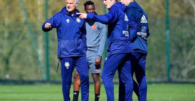 Rutten after 0 to 6: The approach doesn't change, Anderlecht need to win always