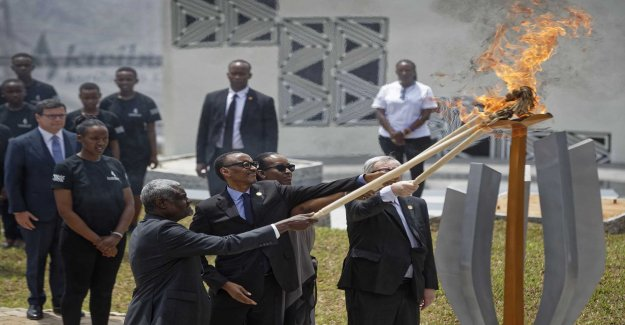 Rwanda honored the victims of the genocide