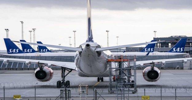 SAS announces 930 if the lay-off
