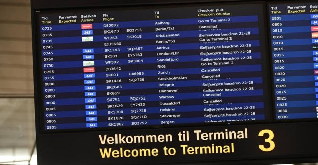 SAS refuses to compensate passengers for strike