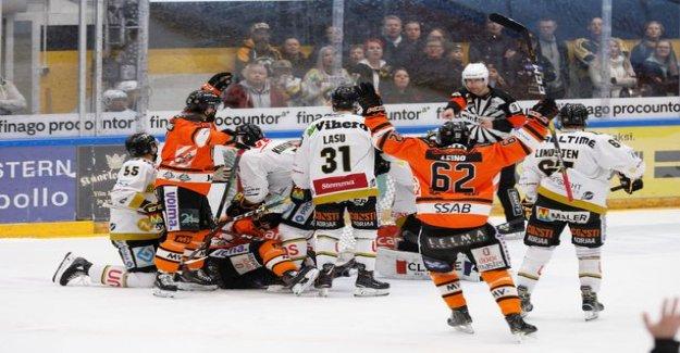 SM-league finals blow instantly! HPK:no shock lead melt törkytaklauksen, the Weasels, the pilot Mikko Mainland furious: god Damn it!