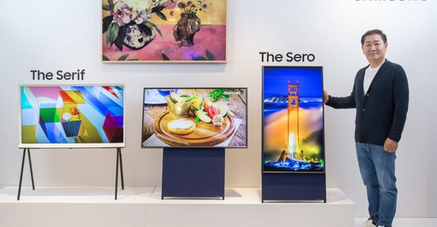 Samsung launches 'vertical' tv for mobile videos