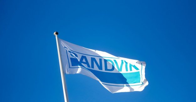 Sandvik's earnings do not reach up to expectations