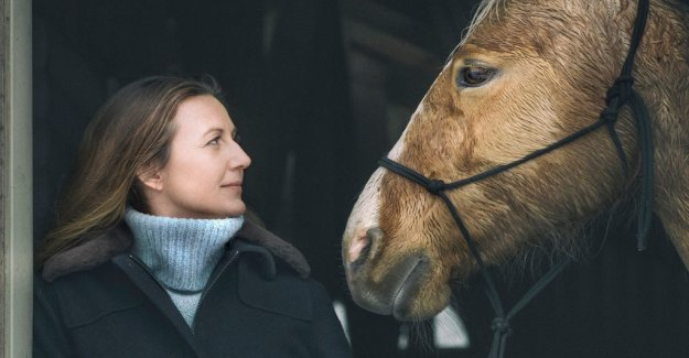 Sanna Lundell in new tv series: the Horses are here and now one hundred percent
