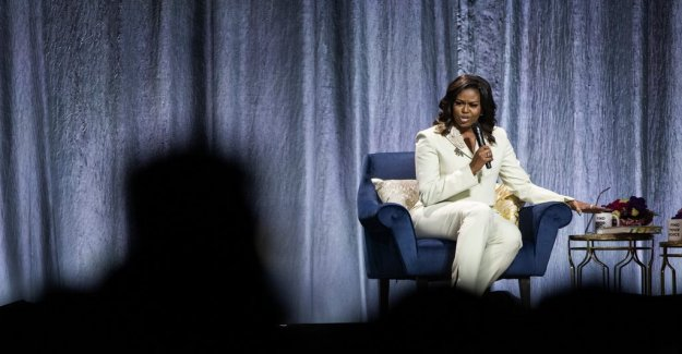 Sanna Toren Bjorling: Michelle Obama prefers talking about life puzzle than about politics