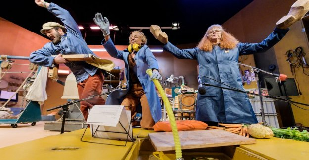 Scenrecension: Klimatkollaps with gallows humor and thousands of years of undergångsmytologi