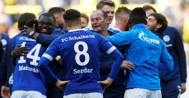 Schalke celebrates after the spectacle in the Exuberance
