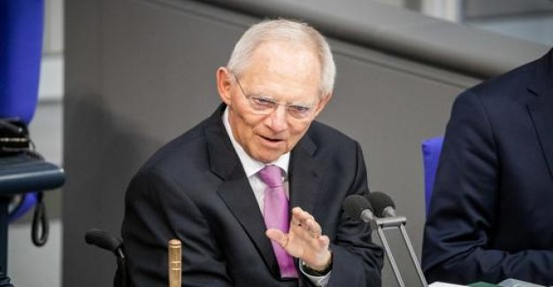 Schäuble: AfD has no legal claim to the Vice-President post